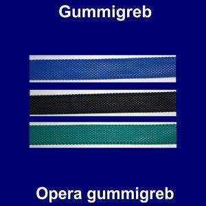 Opera gummigreb