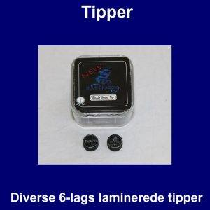 Diverse 6-lags tipper
